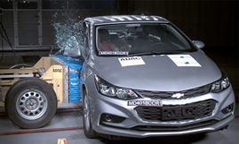 crash test chevrolet cruze