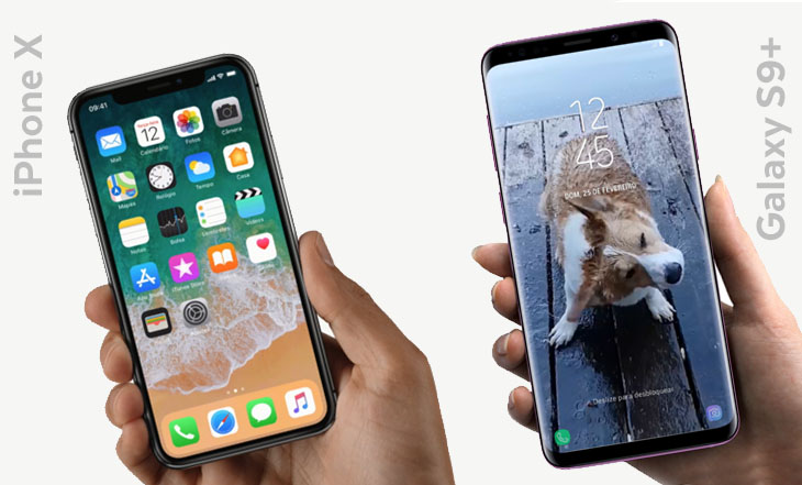 comparacao-iphonex-galxays9plus