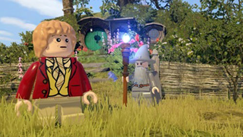 Gandalf em Lego - The Hobbit