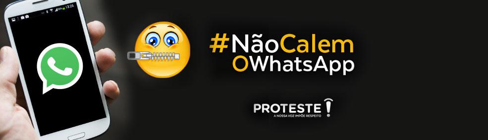 Contra o bloqueio do Whatsapp